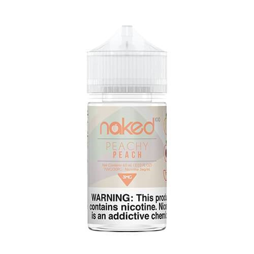 E-LIQUID NAKED 100 PEACHY PEACH - 03mg teor - 60ml