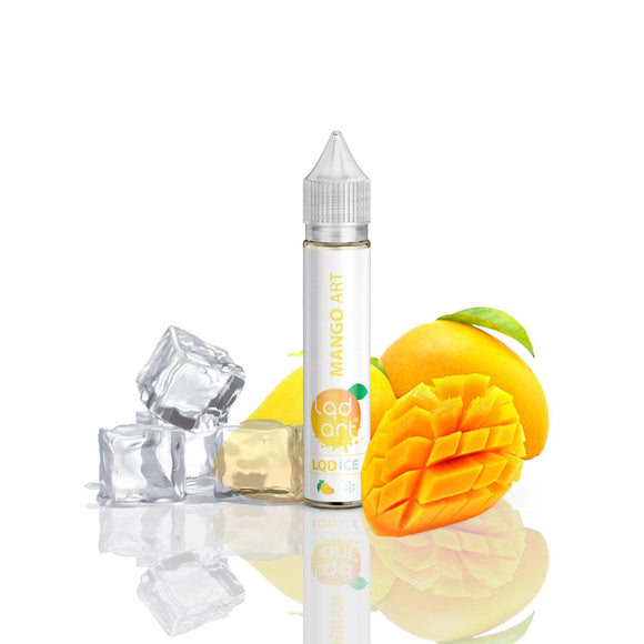 E-JUICE LQD ART ICE MANGO - 12mg TEOR - 30ml