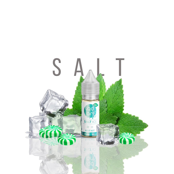 E-LIQUID LQD ART SALT ICE MINT - 35mg TEOR - 16,5ml