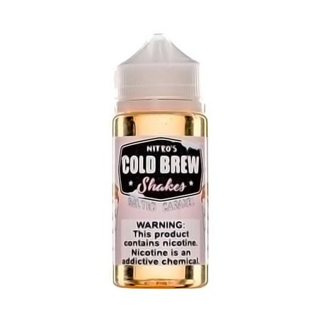 E-LIQUID COLD BREW SHAKES - SALTED CARAMEL - 03mg TEOR - 100ml