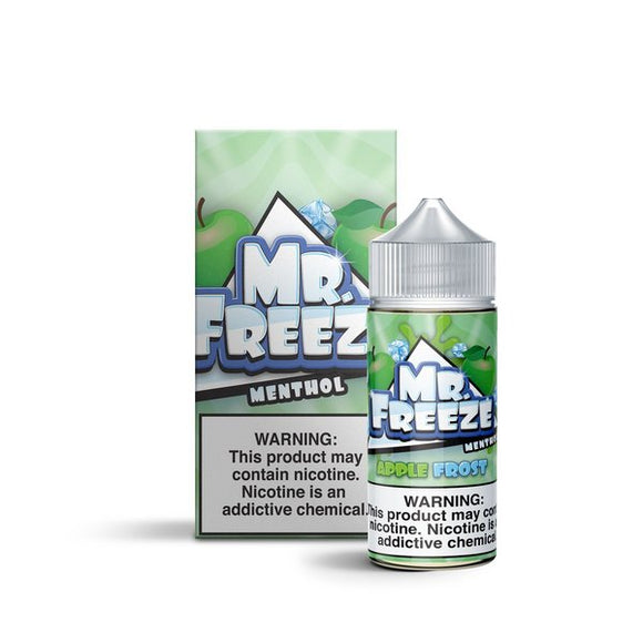 E-LIQUID MR. FREEZE - APPLE FROST MENTHOL - 03mg teor - 100ml