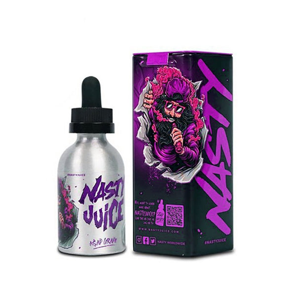 E-LIQUID NASTY JUICE - ASAP GRAPE - 03mg teor - 60ml