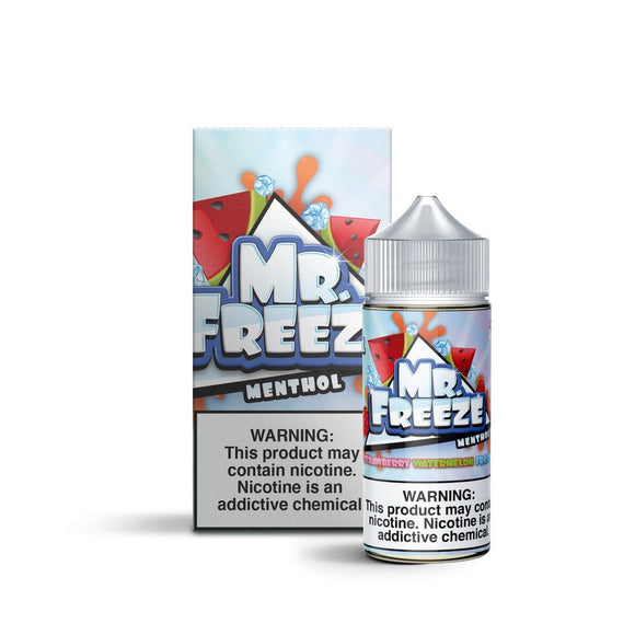 E-LIQUID MR. FREEZE - STRAWBERRY WATERMELON FROST MENTHOL - 03mg teor - 100ml
