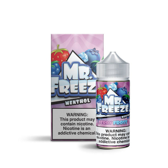 E-LIQUID MR. FREEZE - BERRY FROST MENTHOL - 03mg teor - 100ml