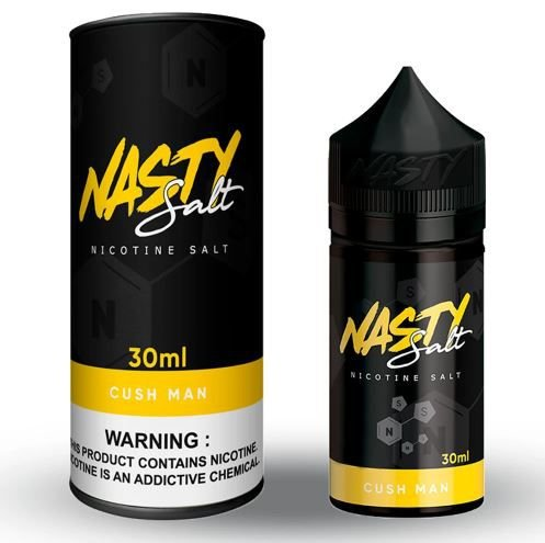 E-LIQUID NASTY SALT - CUSH MAN - 35mg teor - 30ml
