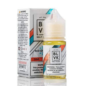 E-LIQUID BLVK UNICORN NIC SALT PLUS  - RED ORANGE - 35mg teor - 30ml