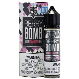E-LIQUID VGOD - BERRY BOMB ICED - 0mg TEOR - 60ml