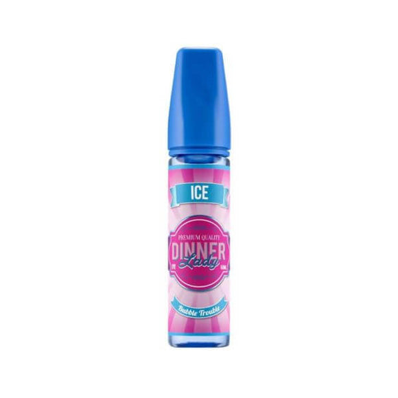 E-LIQUID DINNER LADY BUBBLE TROUBLE ICE  - 03mg TEOR - 60ml