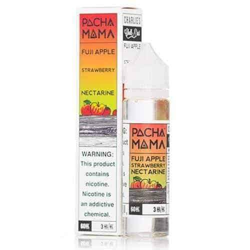 E-LIQUID PACHA MAMA - FUJI APPLE STRAWBERRY NECTARINE - 03mg teor - 60ml