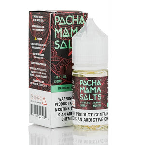 E-LIQUID PACHA MAMA SALTS NIC SALT - STRAWBERRY WATERMELON - 25mg teor - 30ml