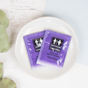 Lavender Hand Sanitizer Packets