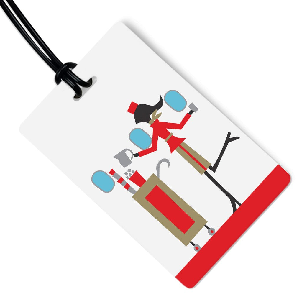 Flight Attendant Luggage Tag
