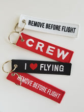 CREW Embroidered Key Chain
