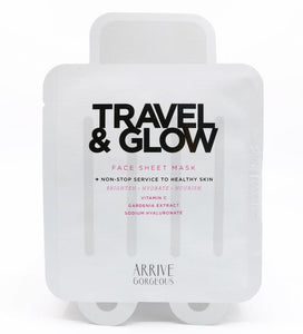 Travel & Glow Face Sheet Mask