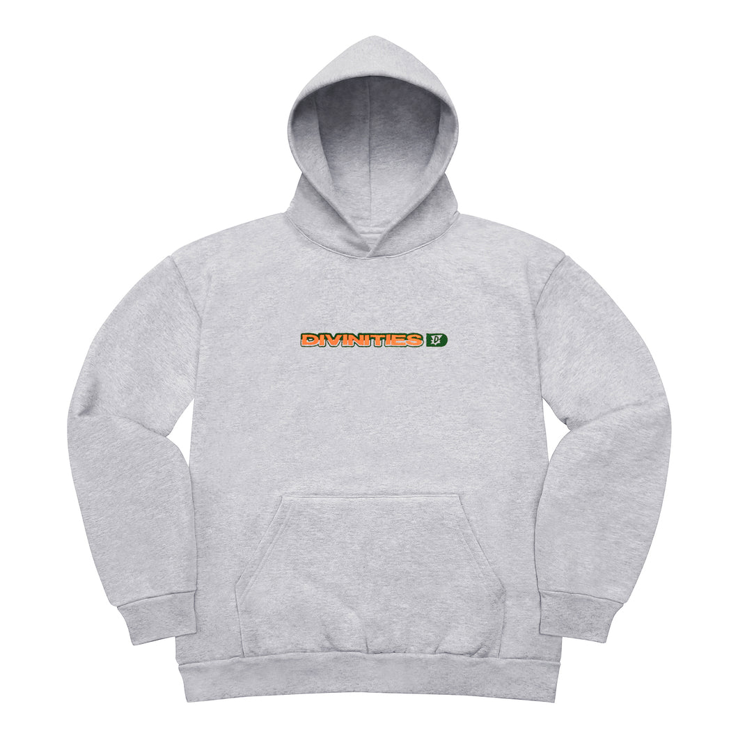 Embroidered Split Logo Pullover