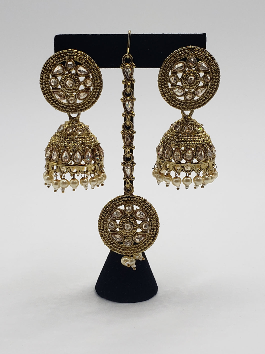 Earrings/Tikka Set