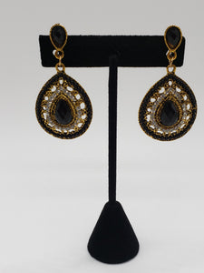 'Black Haze' Earrings
