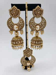 Fancy Earrings/Tikka Set
