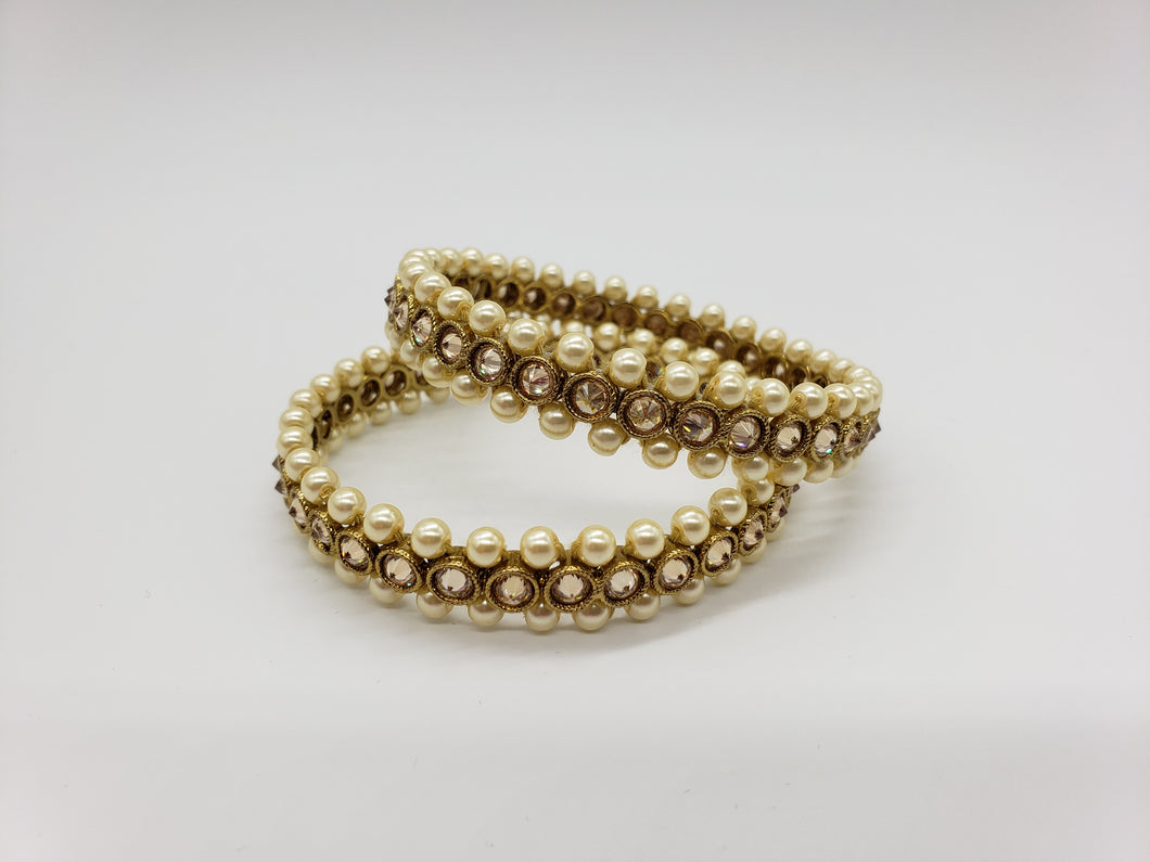 Pearl Bangles/Karay (2pc)