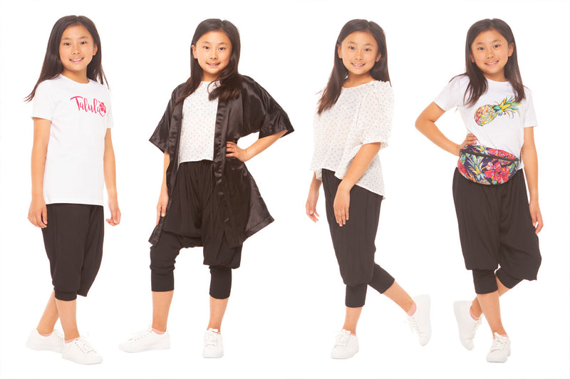 What's comfortable, flexible and trendy for tween girls?