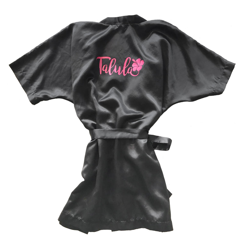 Talula Girls Silk Robe