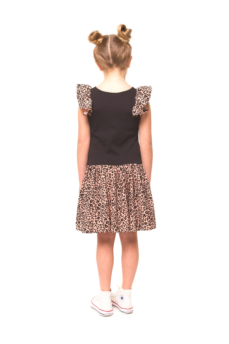 Scarlett Dress - Animal Print