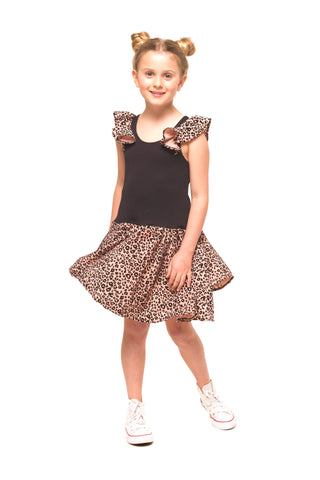 Girls Full Circle Skirt - Stripe