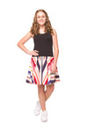Scarlett Girls Dress - Animal Print