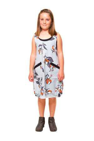Dixie Dress - Blue Floral