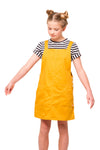 Tayla Girls Pinafore - Sunshine