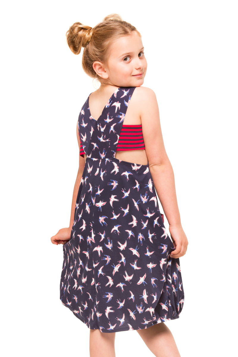 Dixie Dress - Navy