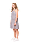 Portia Girls Linen Dress