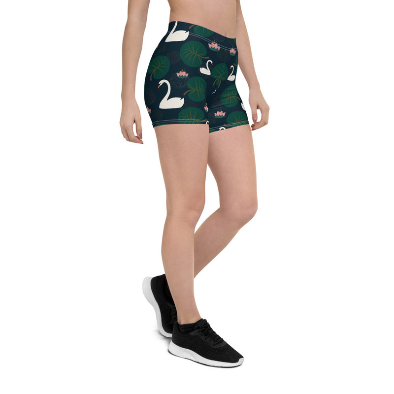 The Swan Girls Activewear Shorts
