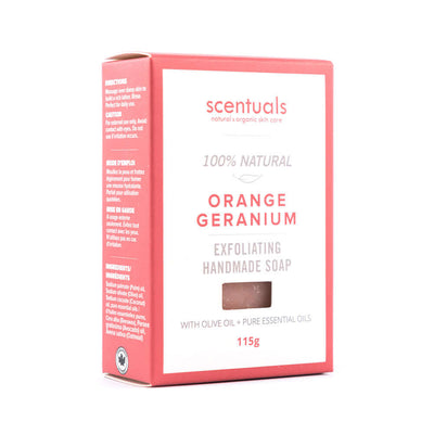 Orange Geranium Bar Soap