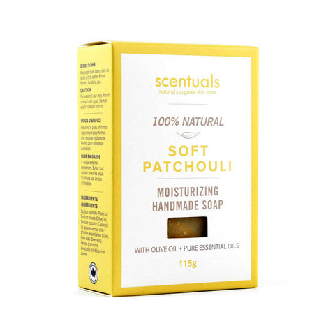 Soft Patchouli Bar Soap