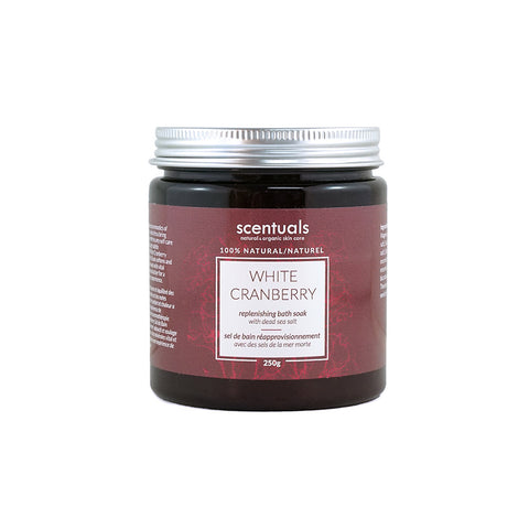 White Cranberry Bath Salts