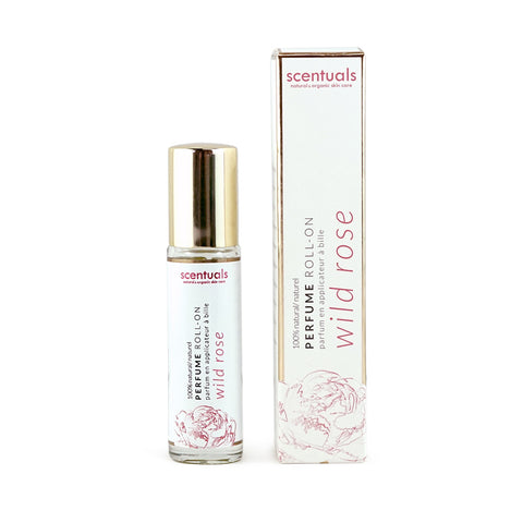 Wild Rose Perfume Roll-On