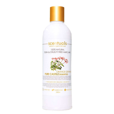 Pure Castile Orange Geranium Shampoo