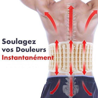 BACKLIEF™ : Ceinture de Décompression Lombaire Gonflable