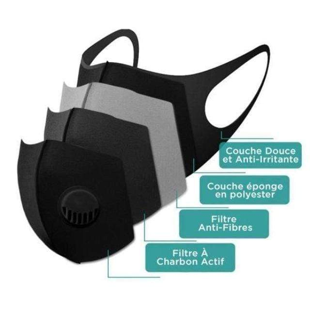 Gadgets d'Eve Copy of MASPUR™ : Masque De Protection Respiratoire Lavable & Réutilisable