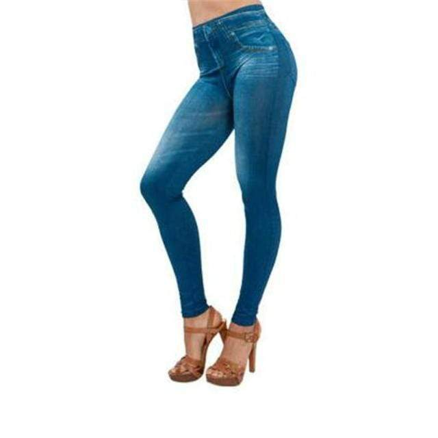 Gadgets d'Eve Bleu / S JYNY™: Jeggings Amincissants