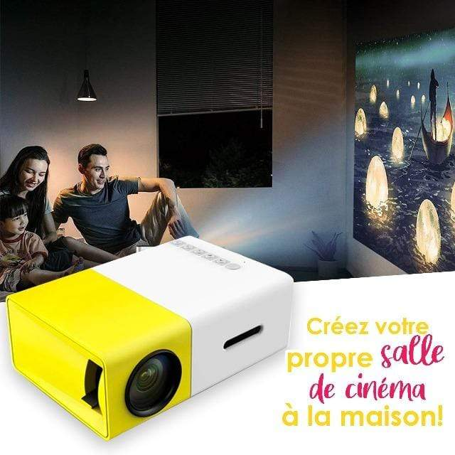 Gadgets d'Eve LEDPRO™ : Mini Projecteur Portable LED