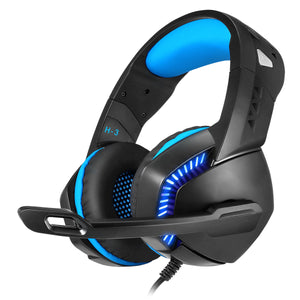 Cosmic Byte H3 Wired Gaming Headphone With Mic And LED - BROOT COMPUSOFT LLP