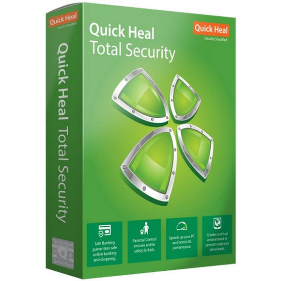 QUICK HEAL TOTAL SECURITY 2 USER 3 YEAR TS2 - BROOT COMPUSOFT LLP