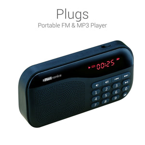 Portronics Portable Speaker with FM Plugs - BROOT COMPUSOFT LLP