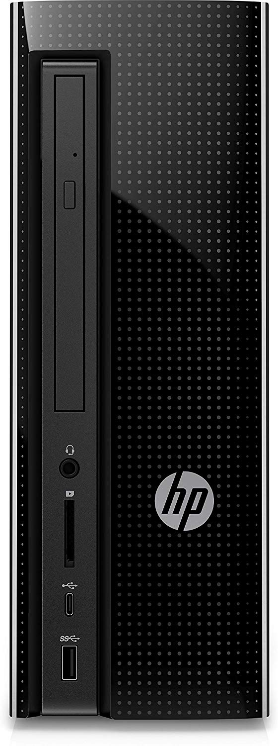 HP DESKTOP 7TH GEN I3 PROCESSOR/4GB RAM/1TB HDD/WIN10/INTEL HD GRAPHICS/BLACK/4.4 KG - BROOT COMPUSOFT LLP