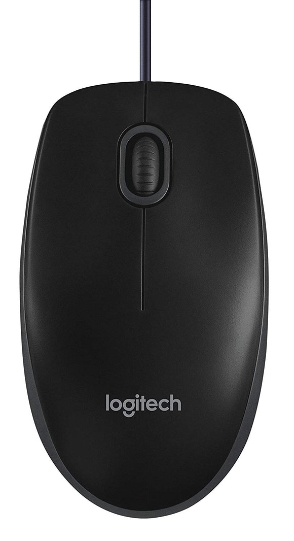 Logitech Wired Mouse B-100 - BROOT COMPUSOFT LLP