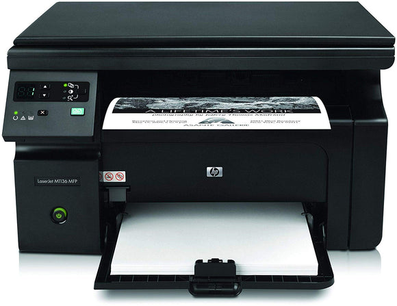Hp Laserjet Pro MFP M1136 MultiFunction Monochrome Laser Printer - BROOT COMPUSOFT LLP