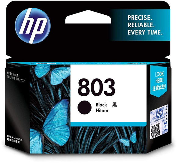 Hp Cartridge 803 Black - BROOT COMPUSOFT LLP