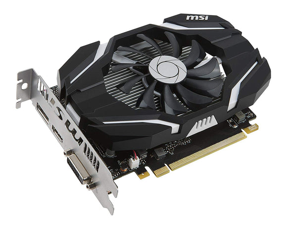 MSI GTX 1050 TI 4GB DDR5 OC  GRAPHIC CARD - BROOT COMPUSOFT LLP
